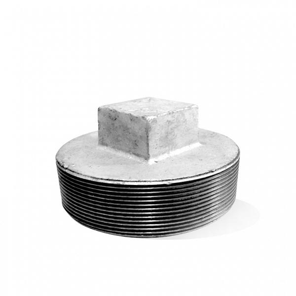 Bujão (plug) galvanizado 2.1/2