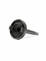 Esguicho agulheta (jato sólido) storz em alumínio com requinte fixo 1.1/2