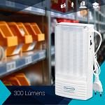 Iluminação de Emergência 300 Lumens