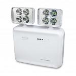 Iluminação de Emergência LED 2200 Lumens 2 Faróis