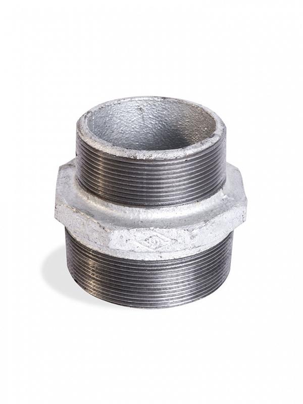 niple de redução galvanizado