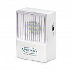 Iluminação Emergência 50 lumens com plug retrátil