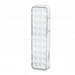 Iluminação Emergência autônoma 30 Leds Lítio Slim