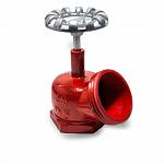 Válvula angular para hidrante (registro globo)