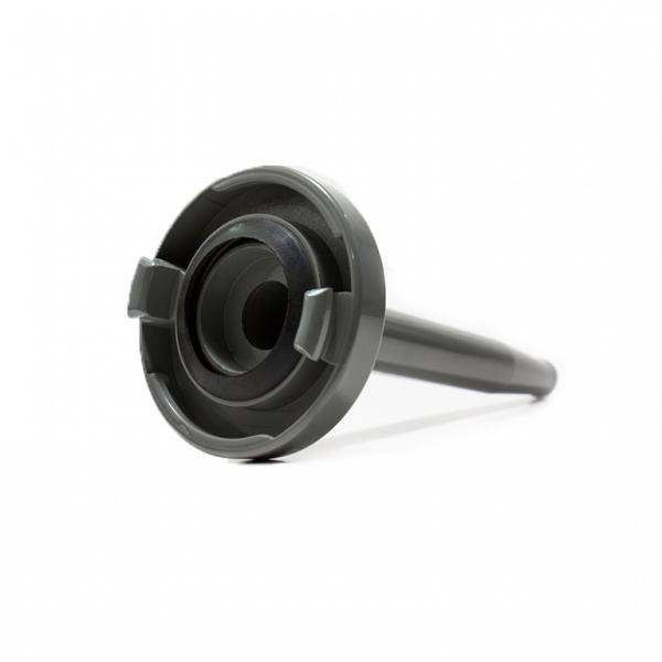 Esguicho agulheta (jato sólido) storz em alumínio com requinte fixo