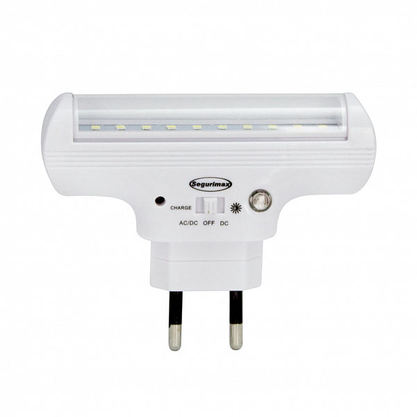 Iluminação de Emergência 60 lúmens com fotocélula