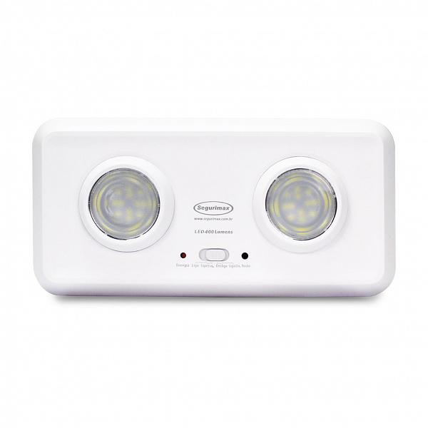 Iluminação de Emergência LED 400 Duo