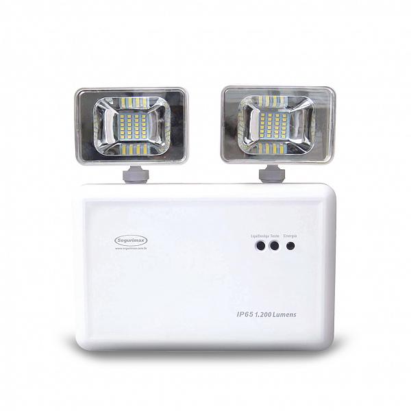 luminária de emergência titan IP65